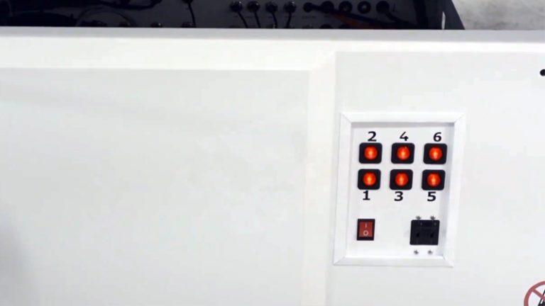 6개의 개별 제어가 가능한 진공 시스템은 재단할 재료를 안정적으로 잡아주며, 저전력 소모 디자인입니다.